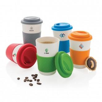 Eco Bamboo Fibre Coffee Cup 270ml
