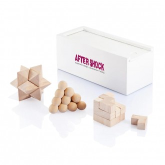 3 Piece Brain Teaser Set