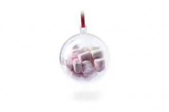 Mini Marshmallows in a Christmas Bauble