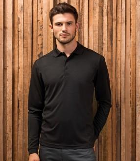Premier Long Sleeve Coolchecker® Pique Polo Shirt