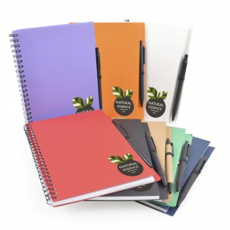 Intimo Wiro Bound Notepad with Pen