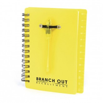 Canopus Spiral Notebook with Pen and Sticky Notes