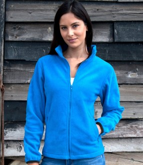 Result Core Ladies Fashion Fit Outdoor Fleece Jacket