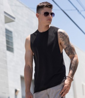 SF Men High Neck Vest