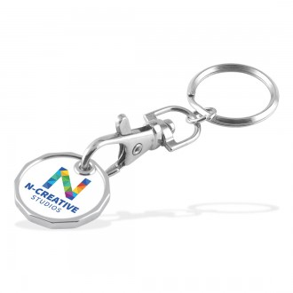 Trolley Coin - Keychain - Double Sided