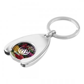 Trolley Coin Keyring - Wishbone
