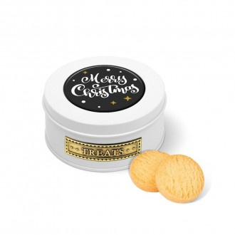 Treat Tin - Mini Shortbread Biscuits