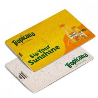 Eco USB Card - Wheat Straw