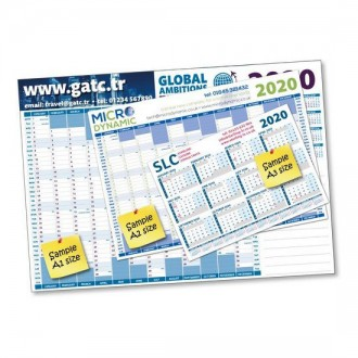 A1 Wall Planners