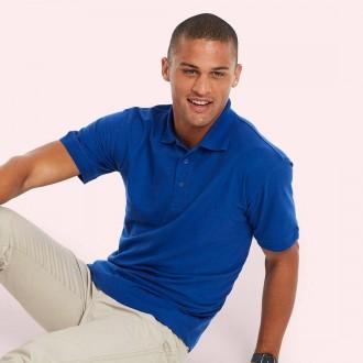 Uneek Johnny Collar Pique Poloshirt UC108