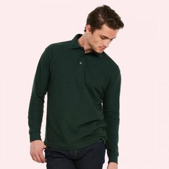 Uneek Longsleeve Pique Poloshirt UC113
