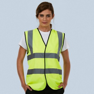 Uneek Sleeveless Safety Waist Coat UC801