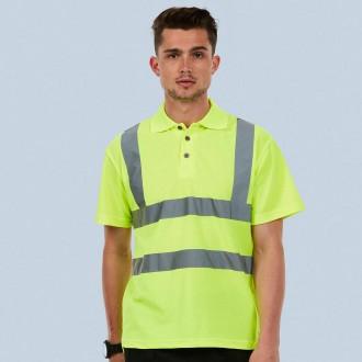 Uneek Hi-Viz Polo Shirt UC805
