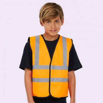 Uneek Childrens Hi-Viz Waist Coat  UC806