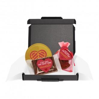 Mini Black Postal Box - The Little Box of Love
