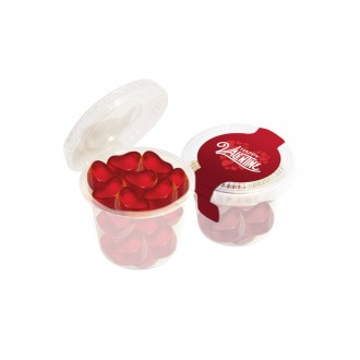 Mini Eco Pot - Kalfany Fruit Gum Hearts