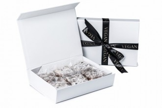 Branded Letter Box Rocky Road Squares