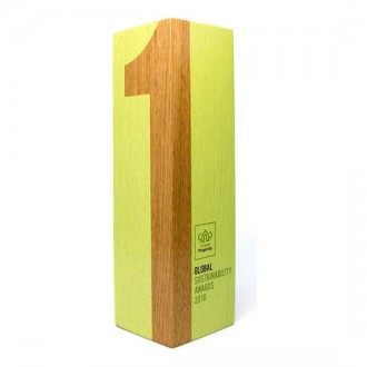 Real Wood Column Award Medium