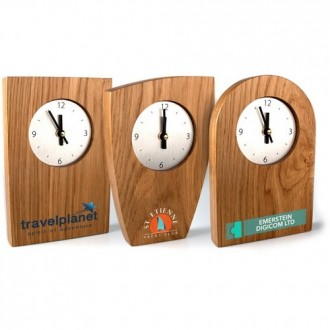 Real Wood Clocks