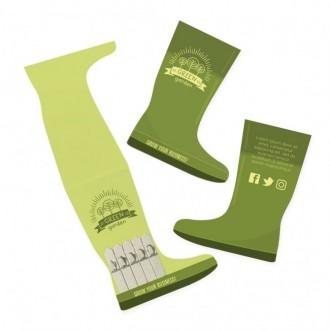 Wellington Boot Shape Seedsticks™ - 5 Sticks