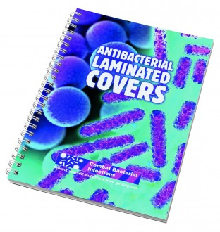 Wiro-Smart A4 Notepad - Antibacterial Laminated Cover