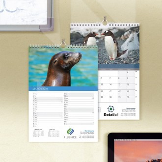 Compact Wall Calendar - World Wildlife