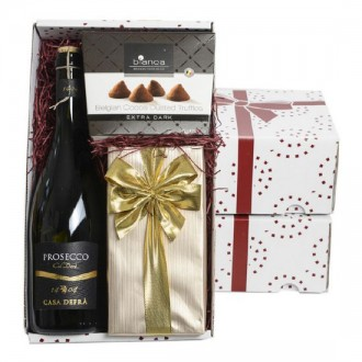 Prosecco, Chocolates And Truffles Gift Box