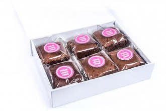 Branded Letter Box Brownies