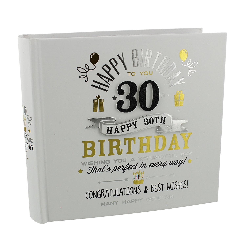 30th Birthday Photo Album (damaged packaging)