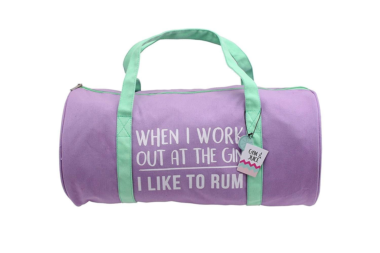 Gym And Tonic 'I Like To Rum' Duffle Bag