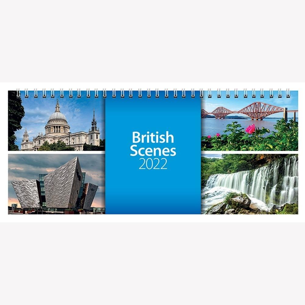 2022 British Scenes Desk Calendar