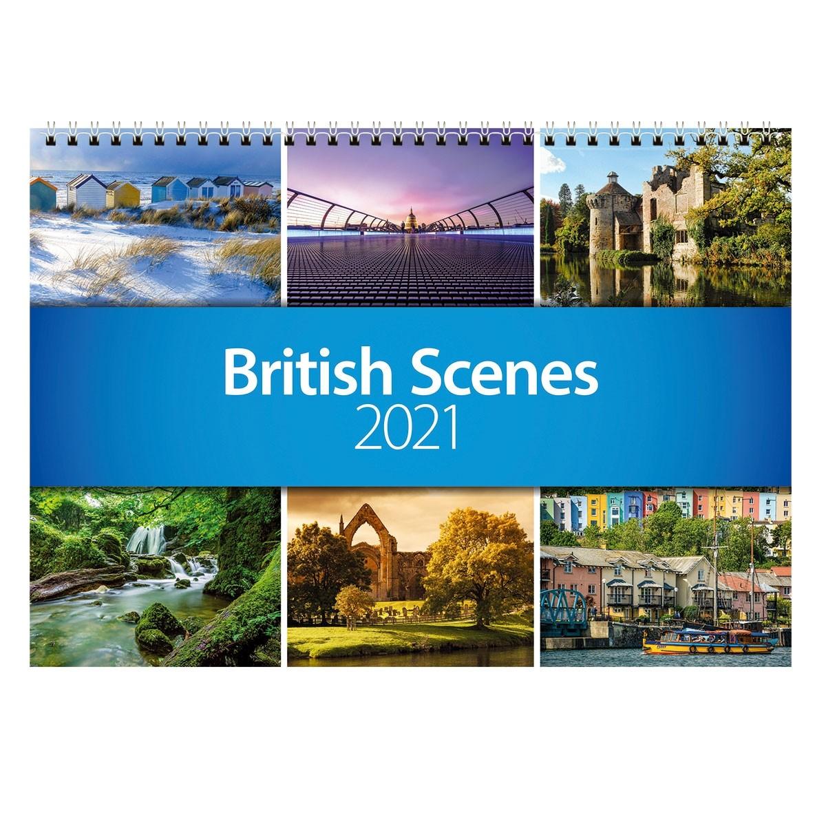 2021 British Scenes Wall Calendar