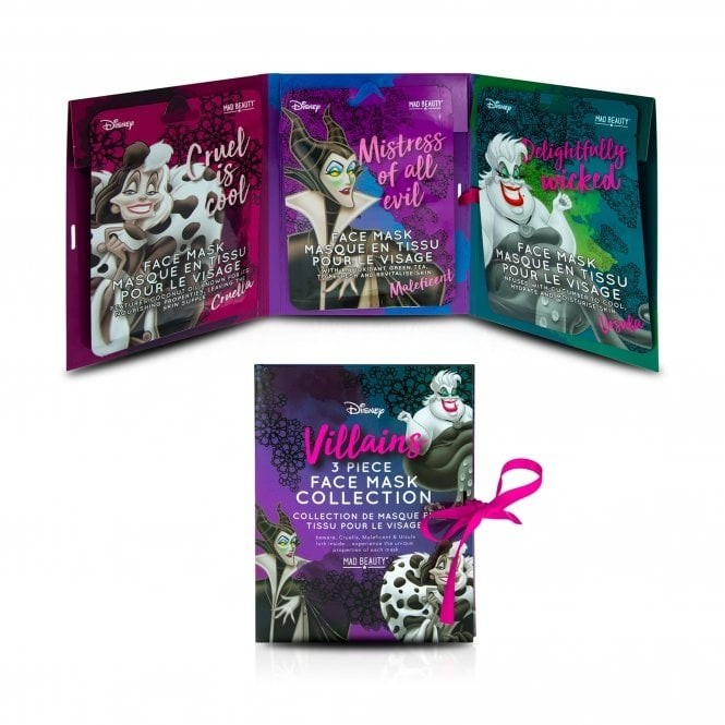 Disney Villains Face Mask Collection (Set of 3)