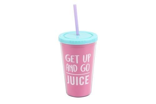 Gym and Tonic Travel Mug - 'Get Up and Go Juice'