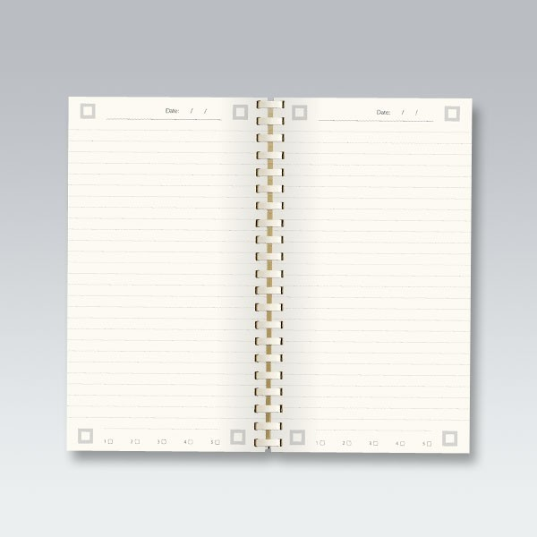 myNo Small Pocket Spiral Notebook