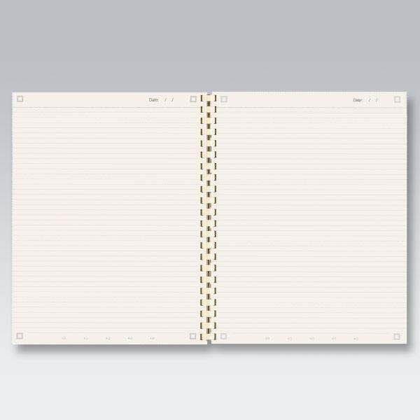 myNo Large Spiral Notebook