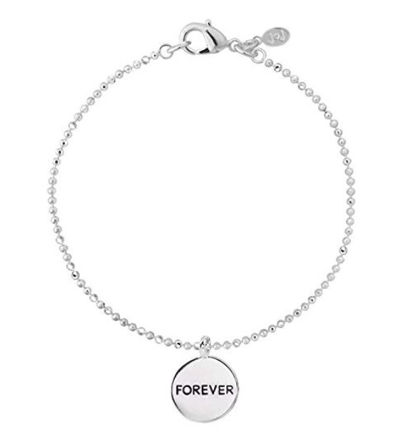 Joma Jewellery - Forever - Silver Plated Duo Disc Bracelet