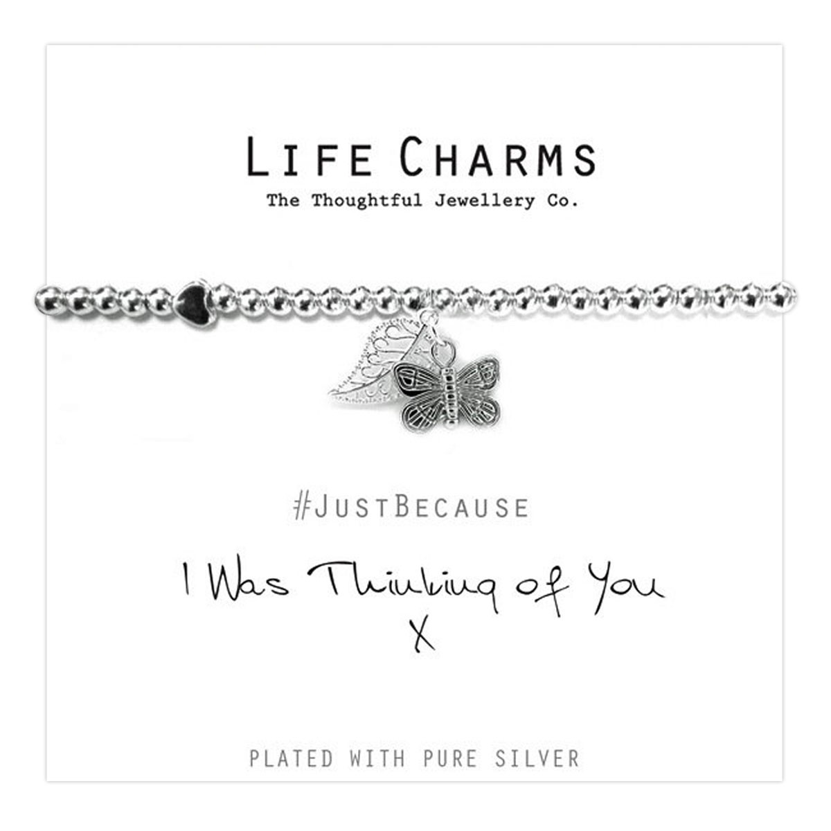 Life Charms - Thinking of you Bracelet