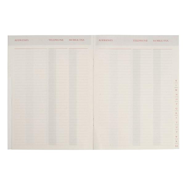 A5 Compact Desk Address Book