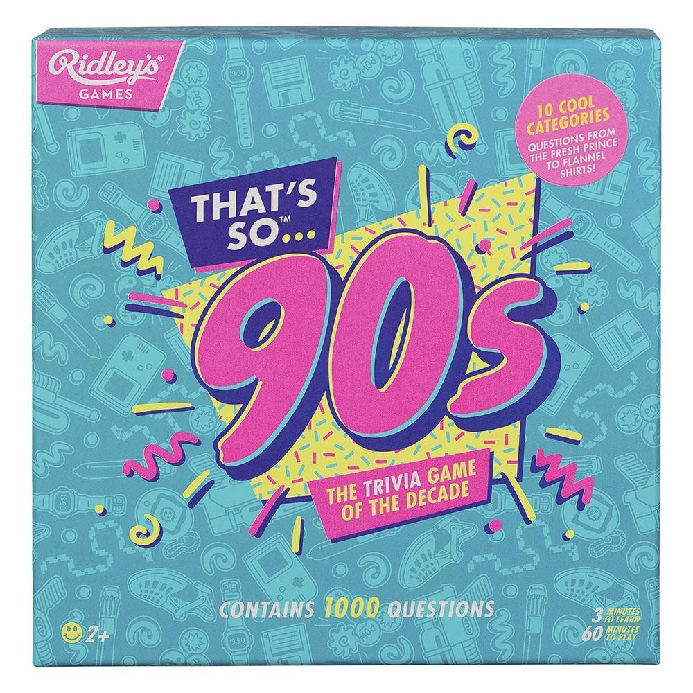 Ridley's Games That's So 90's Trivia Quiz Game