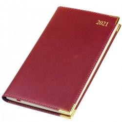 2021 Kingston Leather Pocket Diary - Bookbound - Senator - Week to View