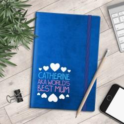 Personalised A5 Notebook - AKA World's Best Mum - myNo Book