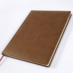 2022 Brandhide Desk Diary - Bookbound - Ambassador - Quarto - Week to View