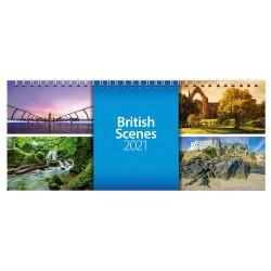 2021 British Scenes Desk Calendar