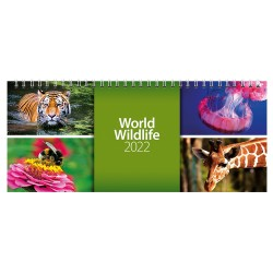 2022 World Wildlife Desk Calendar