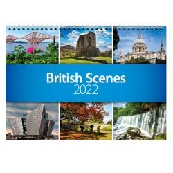 2022 British Scenes Wall Calendar
