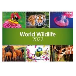 2022 World Wildlife Wall Calendar