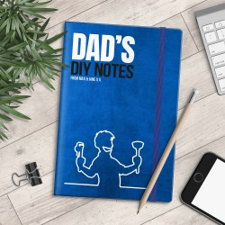 Personalised A5 Notebook - Dad's DIY Notes - myNo Book