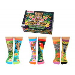 Jungle Fever - Socks for Ladies by United Oddsocks UK 4 - 8