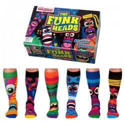 The Funk Heads - Socks for Men by United Oddsocks UK 6-11